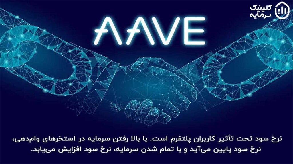 نرخ سود ثابت و متغیر در پلتفرم AAVE